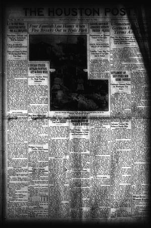 Primary view of object titled 'The Houston Post. (Houston, Tex.), Vol. 37, No. 32, Ed. 1 Friday, May 6, 1921'.