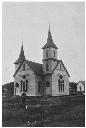 The Original Baptist Church Building at SW 4th Avenue