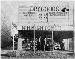 Primary view of object titled 'Dry Goods--W.H.H.Hightower'.