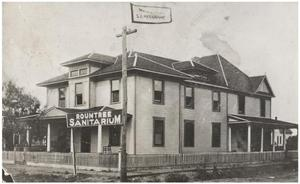 Primary view of object titled 'Roundtree Sanitarium'.