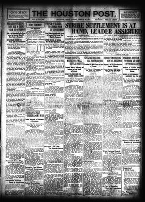 Primary view of object titled 'The Houston Post. (Houston, Tex.), Vol. 31, No. 348, Ed. 1 Sunday, March 18, 1917'.