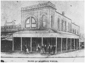Primary view of object titled 'The Bank of Mineral Wells'.