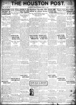 Primary view of object titled 'The Houston Post. (Houston, Tex.), Vol. 38, No. 89, Ed. 1 Monday, July 2, 1923'.