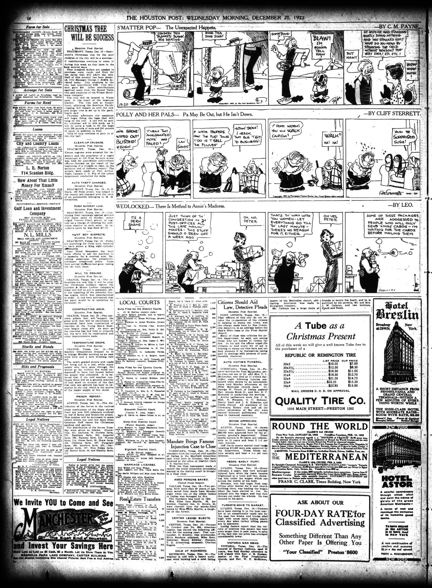 The Houston Post. (Houston, Tex.), Vol. 38, No. 260, Ed. 1 Wednesday ...
