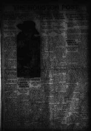 Primary view of object titled 'The Houston Post. (Houston, Tex.), Vol. 37, No. 40, Ed. 1 Saturday, May 14, 1921'.