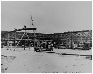 Primary view of object titled '[Construction of the Malsby Dairy]'.