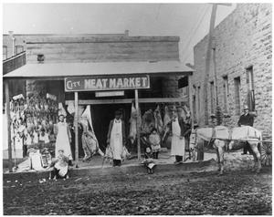 Primary view of object titled 'City Meat Market'.