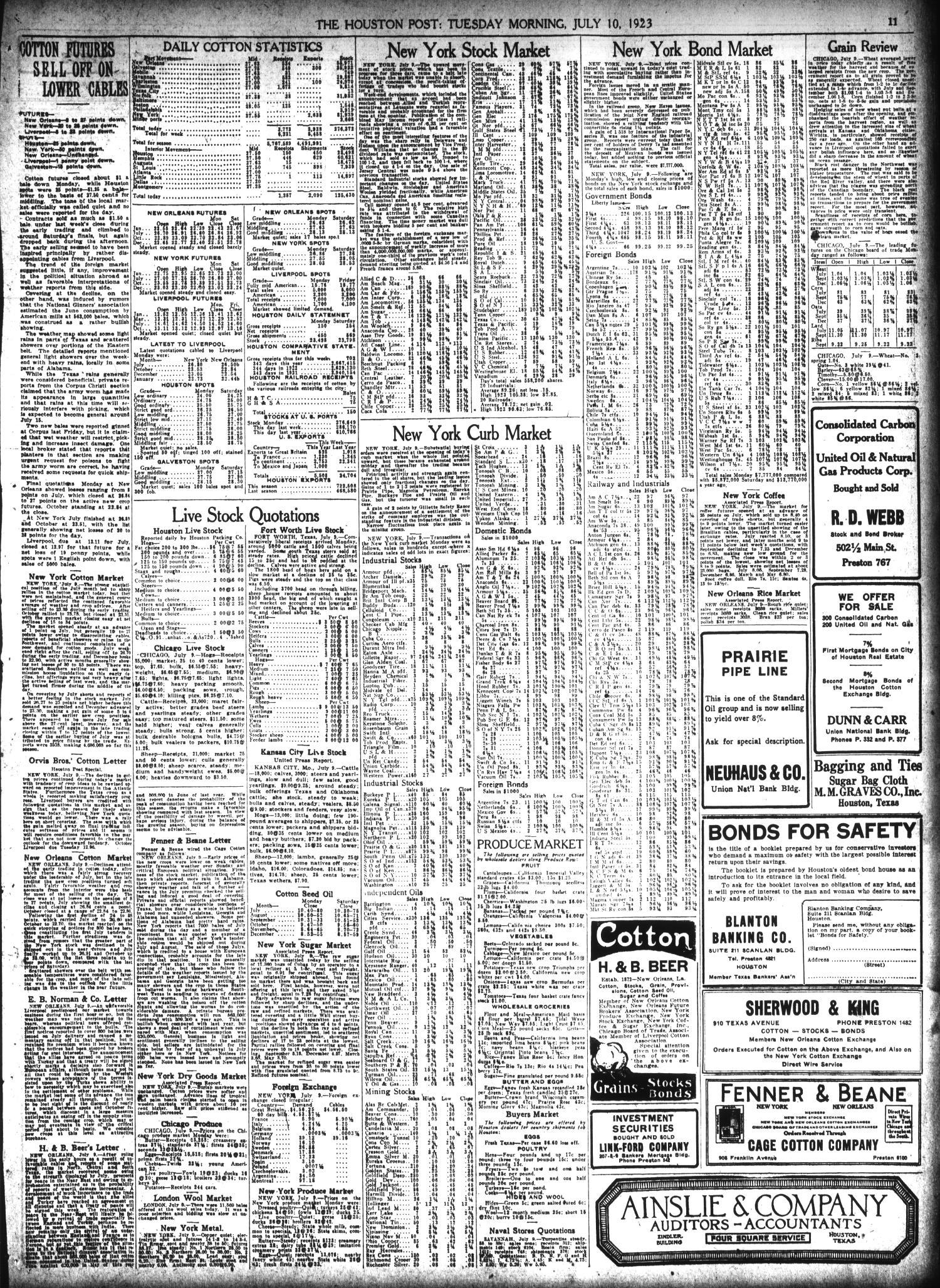 The Houston Post  (Houston, Tex ), Vol  39, No  97, Ed  1