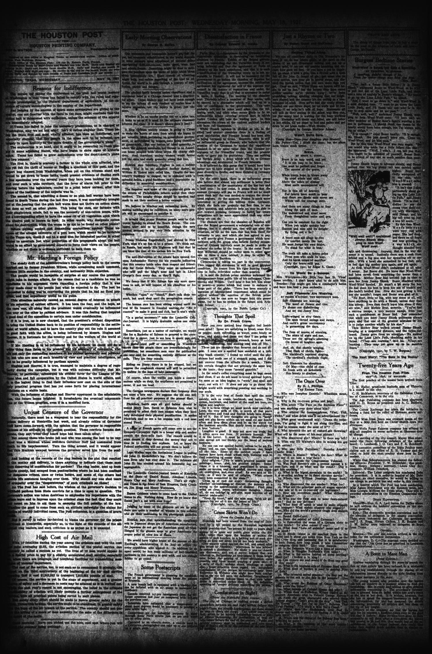 The Houston Post. (Houston, Tex.), Vol. 37, No. 44, Ed. 1