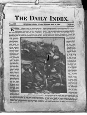 Primary view of object titled 'The Daily Index'.
