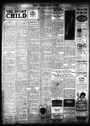 Primary view of object titled 'The Houston Post. (Houston, Tex.), Vol. 31, No. 349, Ed. 1 Monday, March 19, 1917'.