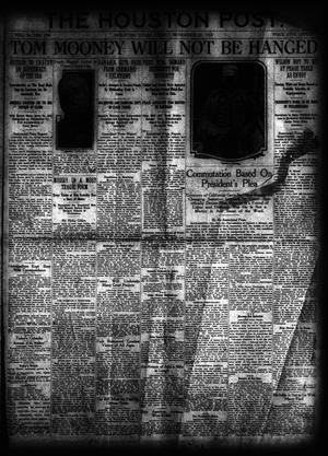 Primary view of object titled 'The Houston Post. (Houston, Tex.), Vol. 34, No. 239, Ed. 1 Friday, November 29, 1918'.