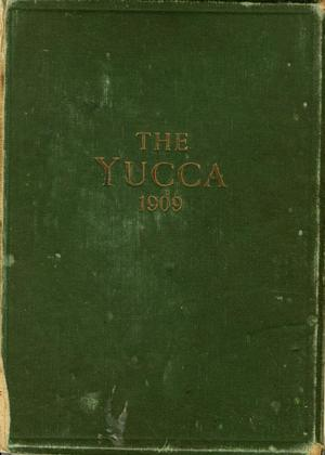 Primary view of object titled 'The Yucca, Yearbook of North Texas State Normal School, 1909'.