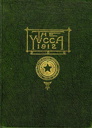 Primary view of object titled 'The Yucca, Yearbook of North Texas State Normal School, 1912'.