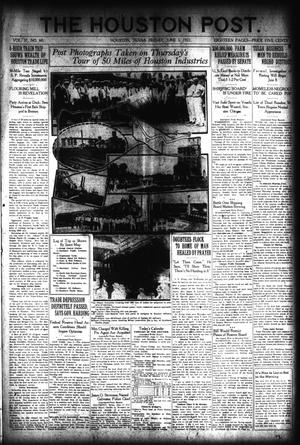 Primary view of object titled 'The Houston Post. (Houston, Tex.), Vol. 37, No. 60, Ed. 1 Friday, June 3, 1921'.
