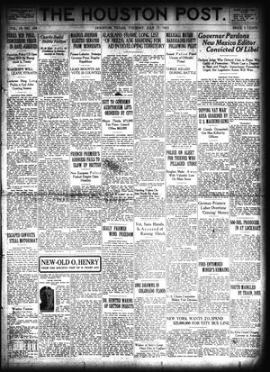 Primary view of object titled 'The Houston Post. (Houston, Tex.), Vol. 39, No. 104, Ed. 1 Tuesday, July 17, 1923'.