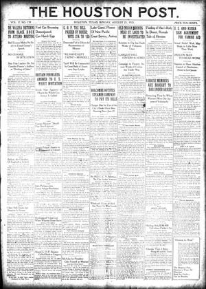 Primary view of object titled 'The Houston Post. (Houston, Tex.), Vol. 37, No. 139, Ed. 1 Sunday, August 21, 1921'.