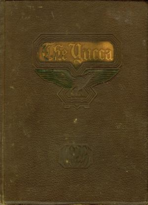 The Yucca, Yearbook of North Texas State Teacher's School, 1925
