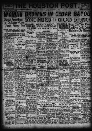 Primary view of object titled 'The Houston Post. (Houston, Tex.), Vol. 38, No. 119, Ed. 1 Tuesday, August 1, 1922'.