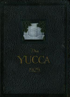 Primary view of object titled 'The Yucca, Yearbook of North Texas State Teacher's College, 1929'.