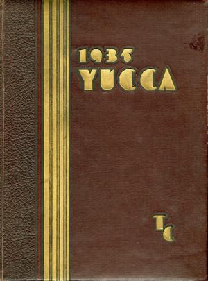 Primary view of object titled 'The Yucca, Yearbook of North Texas State Teacher's College, 1935'.
