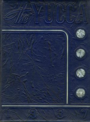 Primary view of object titled 'The Yucca, Yearbook of North Texas State Teacher's College, 1937'.