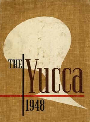 Primary view of object titled 'The Yucca, Yearbook of North Texas State College, 1948'.