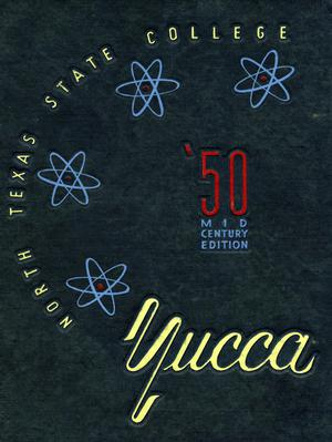 Primary view of object titled 'The Yucca, Yearbook of North Texas State College, 1950'.