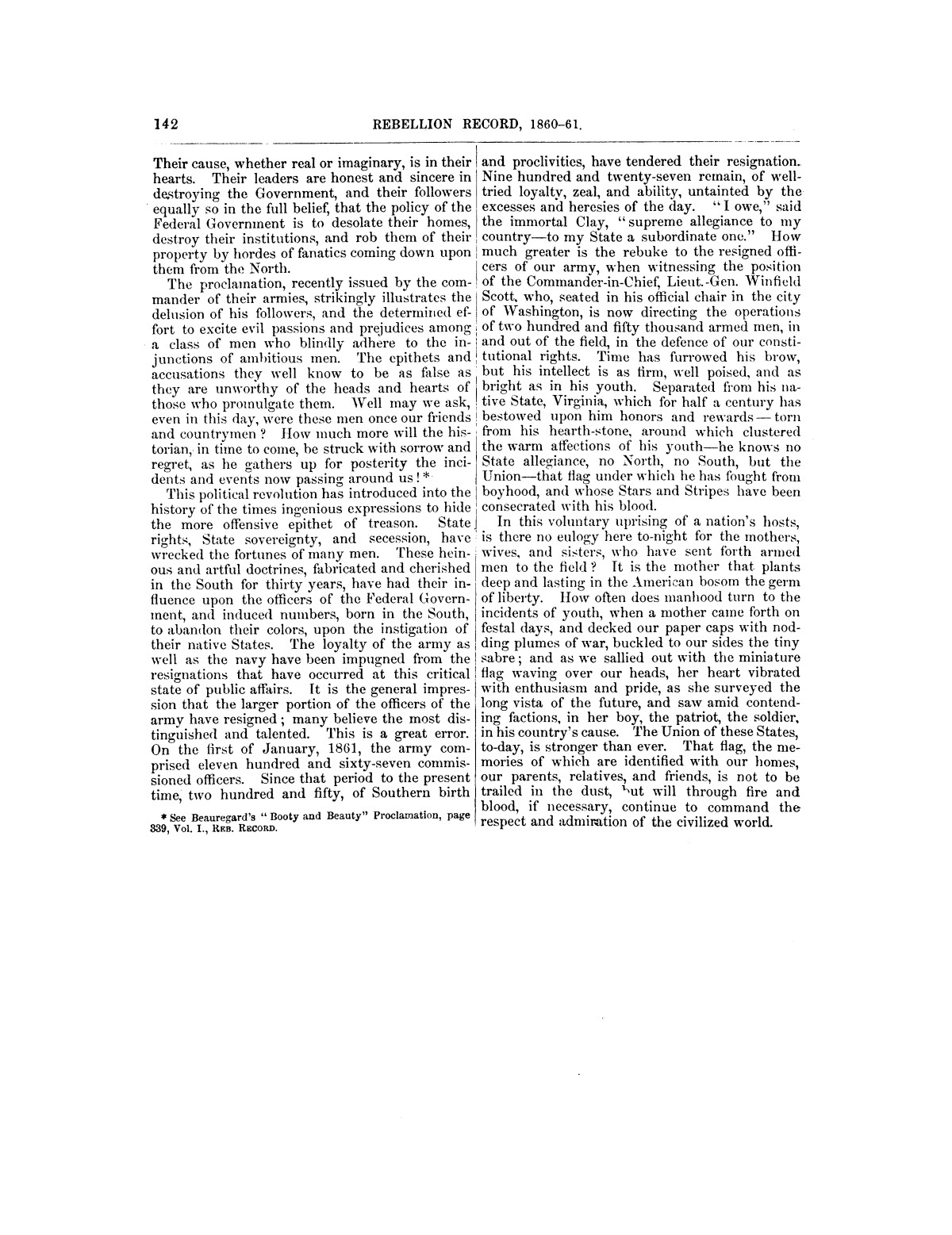 The treachery in Texas, the secession of Texas, and the arrest of the United States officers and soldiers serving in Texas. Read before the New-York Historical Society, June 25, 1861. By Major J. T. Sprague, U. S. A.                                                                                                      [Sequence #]: 36 of 36