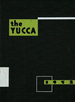 Primary view of object titled 'The Yucca, Yearbook of North Texas State College, 1952'.
