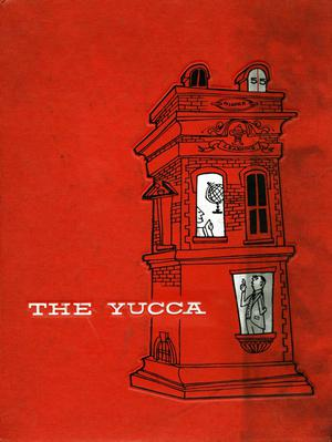 Primary view of object titled 'The Yucca, Yearbook of North Texas State College, 1955'.