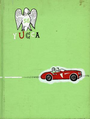 Primary view of object titled 'The Yucca, Yearbook of North Texas State College, 1956'.