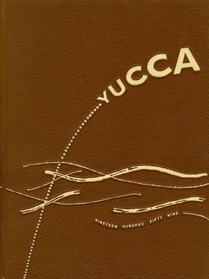 Primary view of object titled 'The Yucca, Yearbook of North Texas State College, 1959'.