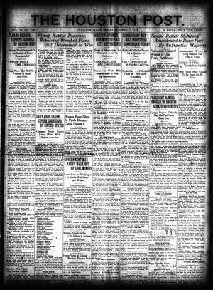 Primary view of object titled 'The Houston Post. (Houston, Tex.), Vol. 35, No. 196, Ed. 1 Friday, October 17, 1919'.