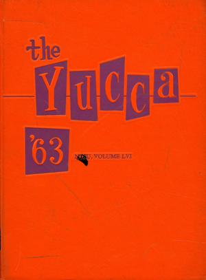Primary view of object titled 'The Yucca, Yearbook of North Texas State University, 1963'.