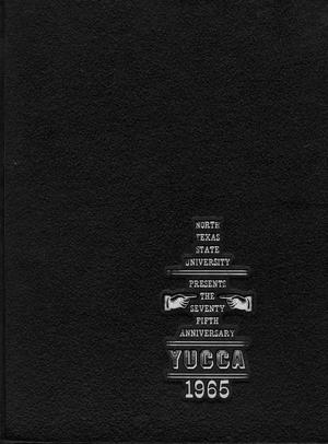 Primary view of object titled 'The Yucca, Yearbook of North Texas State University, 1965'.