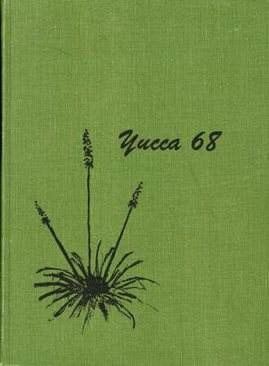 Primary view of object titled 'The Yucca, Yearbook of North Texas State University, 1968'.