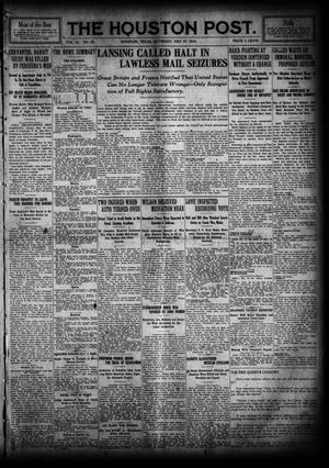 Primary view of object titled 'The Houston Post. (Houston, Tex.), Vol. 31, No. 53, Ed. 1 Saturday, May 27, 1916'.