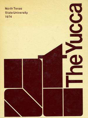 Primary view of object titled 'The Yucca, Yearbook of North Texas State University, 1974'.