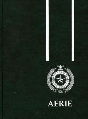 Primary view of object titled 'The Aerie, Yearbook of North Texas State University, 1983'.