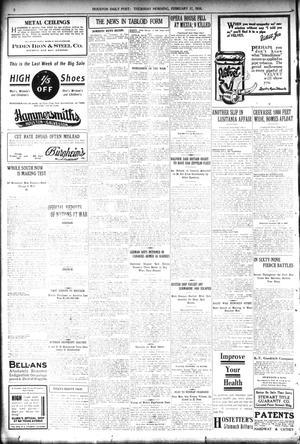 The Houston Post  (Houston, Tex ), Vol  30, No  320, Ed  1 Thursday