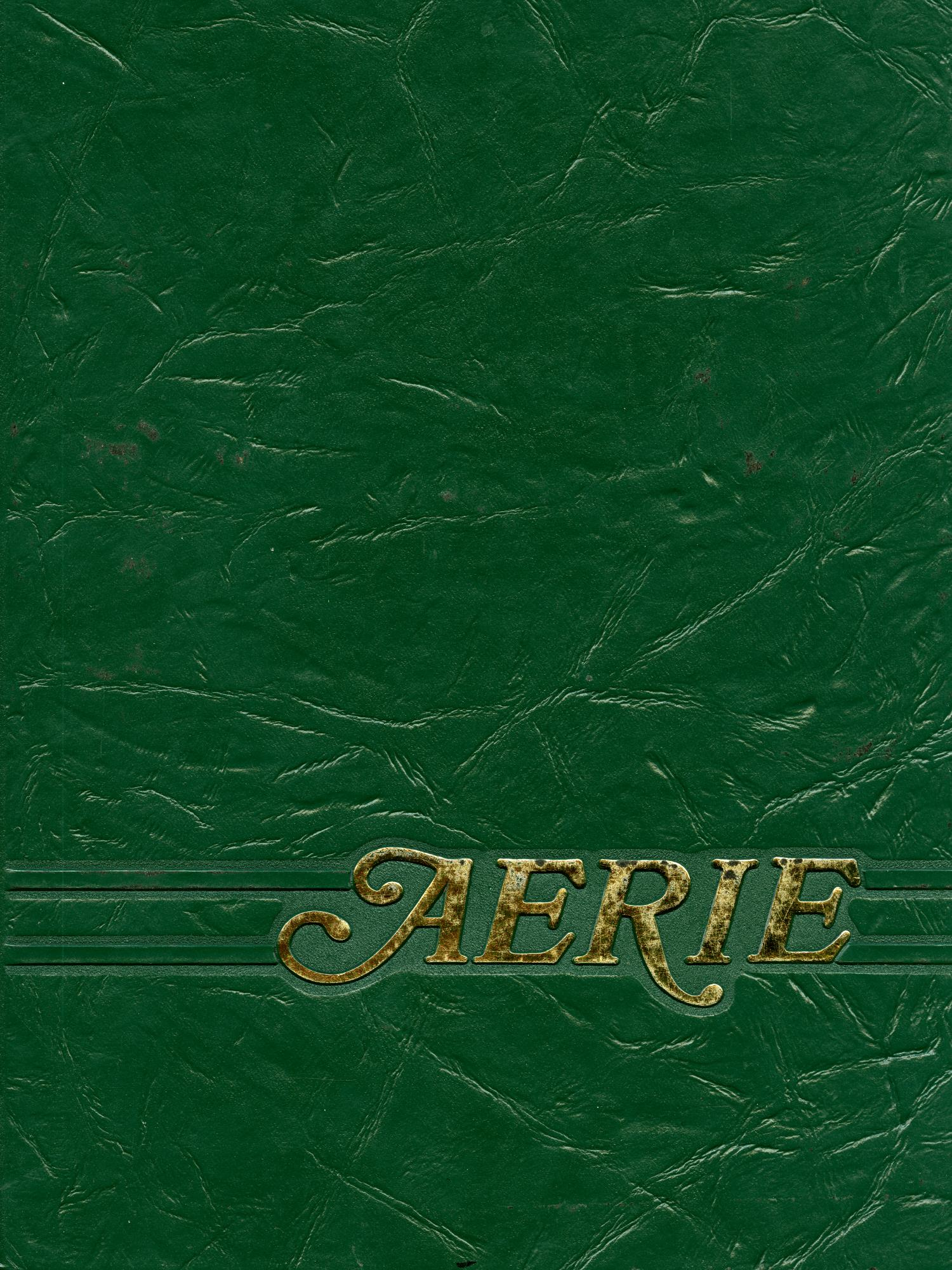 The Aerie, Yearbook of North Texas State University, 1982                                                                                                      Front Cover