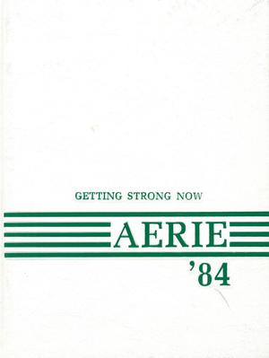 Primary view of object titled 'The Aerie, Yearbook of North Texas State University, 1984'.