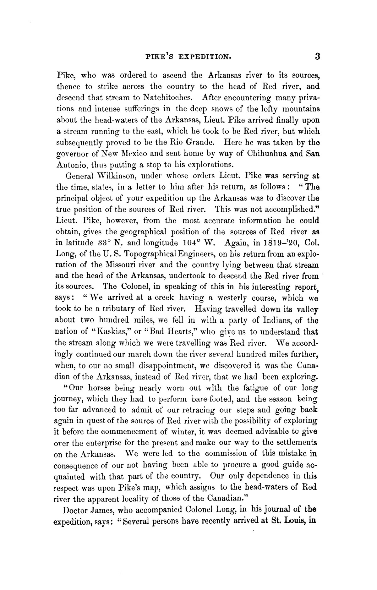 Exploration of the Red River of Louisiana, in the year 1852 / by Randolph B. Marcy ; assisted by George B. McClellan.                                                                                                      [Sequence #]: 19 of 368