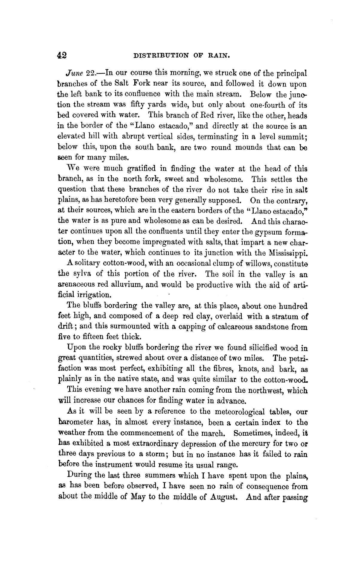 Exploration of the Red River of Louisiana, in the year 1852 / by Randolph B. Marcy ; assisted by George B. McClellan.                                                                                                      [Sequence #]: 58 of 368