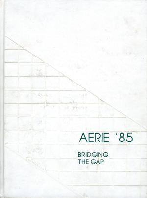 Primary view of object titled 'The Aerie, Yearbook of North Texas State University, 1985'.