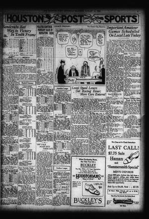 The Houston Post Houston Tex Vol 38 No 130 Ed 1