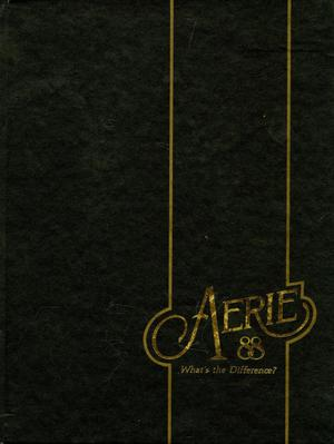 Primary view of object titled 'The Aerie, Yearbook of North Texas State University, 1988'.