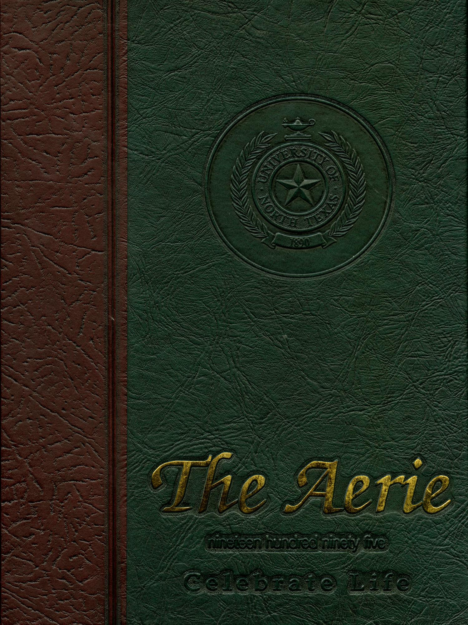 The Aerie, Yearbook of University of North Texas, 1995                                                                                                      Front Cover