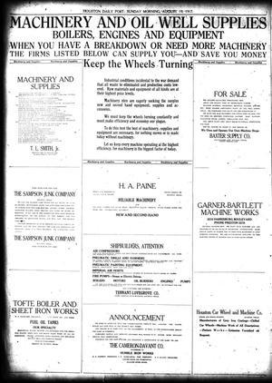 The Houston Post  (Houston, Tex ), Vol  33, No  137, Ed  1